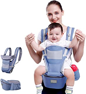 Baby Hip Seat Waist Stool Baby Carrier with Storage Box Breathable Comfortable Safe Separable Baby Holder for Newborn Infa...