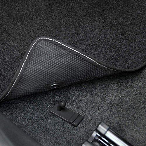 Lloyd Mats Shelby GT500 Circle Black Heavy Plush