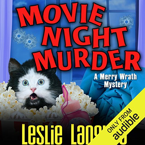 Movie Night Murder audiobook cover art