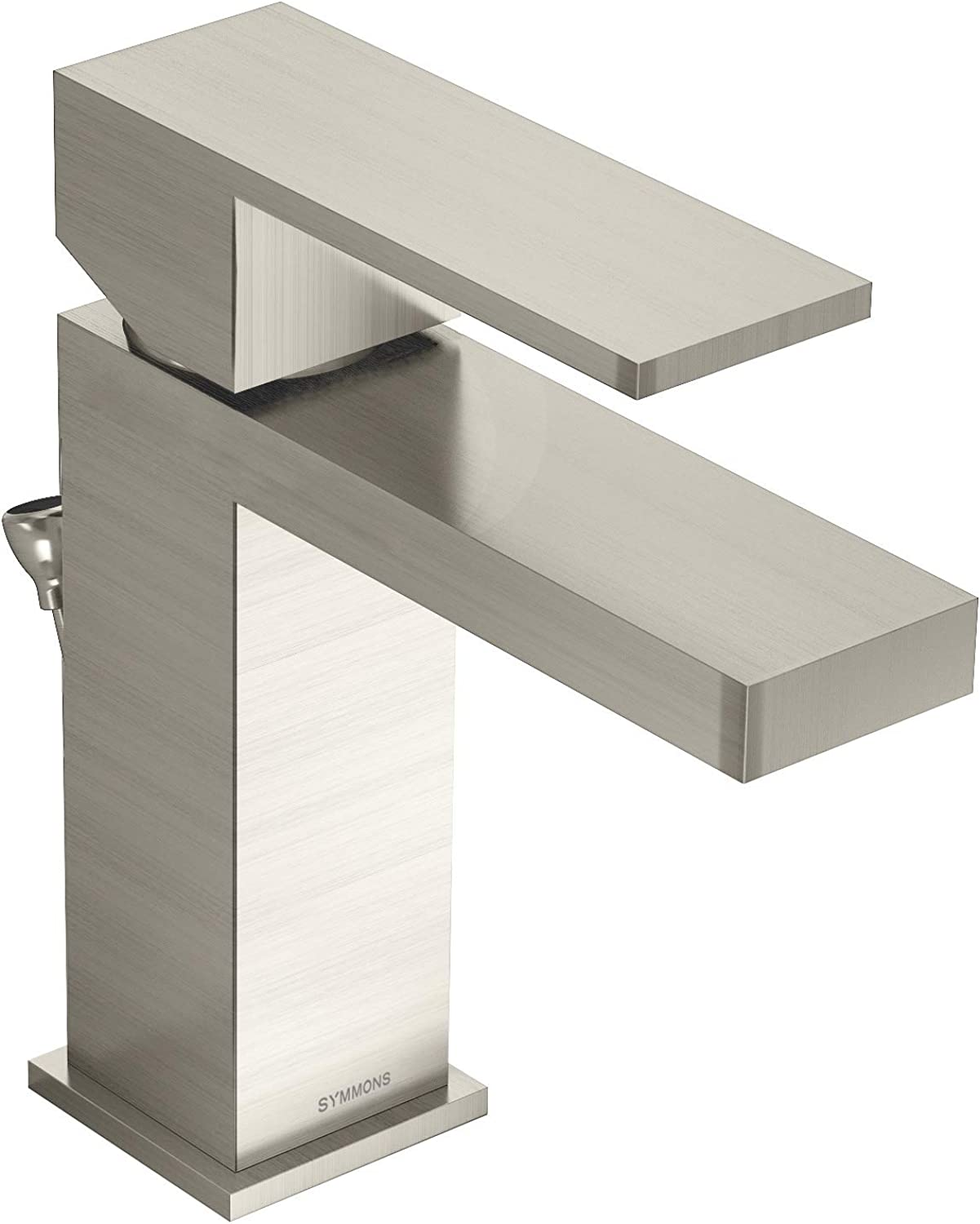 Symmons SLS-3612-STN-1.0 Duro Bathroom Faucet, 1.0 GPM Flow Rate, Satin Nickel