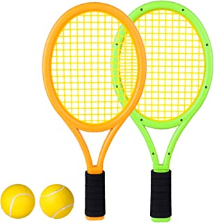 Toy Station Central Tennis Racket with Foam Ball