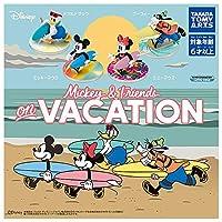 LOVALOT Mickey & Friends on Vacation [全4種セット(フルコンプ)] ガチャガチャ カプセルトイ