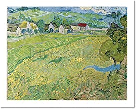 Barewalls View of Vessenots Near Auvers Paper Print Wall Art (8in. x 10in.)