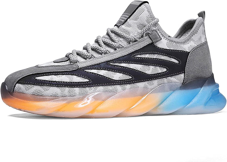 ZLY Men's Fashion Sneaker Ranking TOP15 Mesh Comfort free Slip Shoes Resist Running
