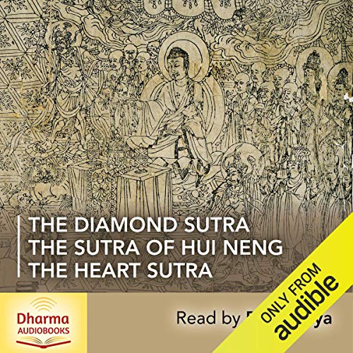 The Diamond Sutra, The Heart Sutra, The Sutra of Hui Neng audiobook cover art