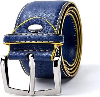 Man Belt Split Leather Italian Design Casual Men's Leather Belts For Jeans