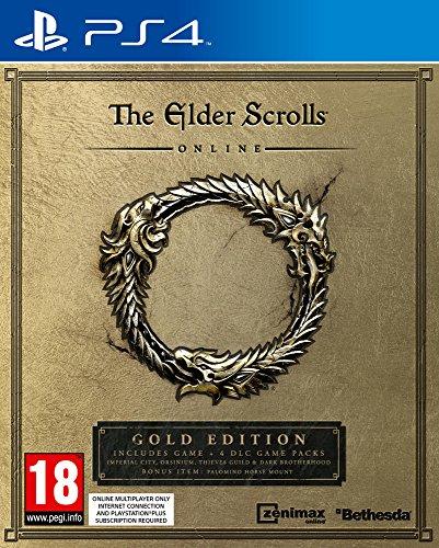 JEU Konsole BETHESDA Senioren Scrolls Online Gold PS4