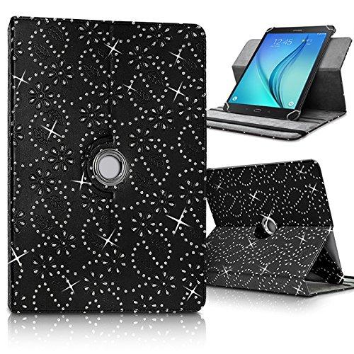 Karylax - Funda de protección y soporte universal para Acer Iconia One 10 B3-A20 de 10,1 pulgadas, color negro