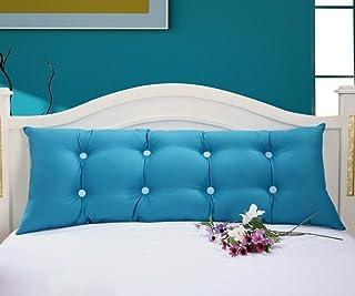 ZWL ダブルクッション大きな背もたれロングピローは、洗濯することができ、枕カバーホームベッドサイドソファベッドピロー ファッション z ( 色 : J j , サイズ さいず : 1.2M )