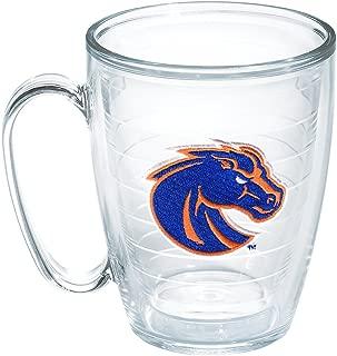 Tervis 1167067 Boise State Horse Head Emblem Individual Mug, 16 oz, Clear