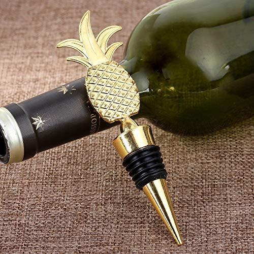 Weinflaschenverschluss Ananas Champagner Rotwein Flaschenverschluss Vakuum versiegelt Twist Valentinstag Hochzeitsbevorzugungen Geschenk