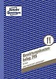 AVERY Zweckform 745 Bewirtungskostenbeleg (A5, mikroperforiert, 50 Blatt) Blau (weiß Blätter) (3)