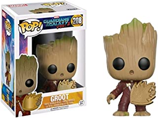 Funko 12773 Pop! Marvel:Guardians of The Galaxy Vol. 2- Groot Exclusive #208