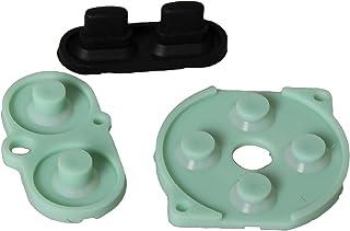 eJiasu GBC Parts, Replacement Rubber Conductive Controller Shell D-Pad Button Pads Repair Parts for Nintendo GBC Gameboy Color Console (1 Set)