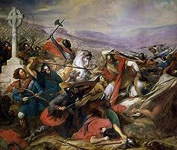 Kunst für Alle Impresión artística/Póster: Charles Auguste Steuben The Battle of Poitiers 25th October 732 Won by Charles Martel 688-741 1837