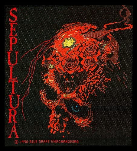 Sepultura Beneath The Remains Logo Seasonal Wrap Introduction Band Woven Metal National products Music Heavy
