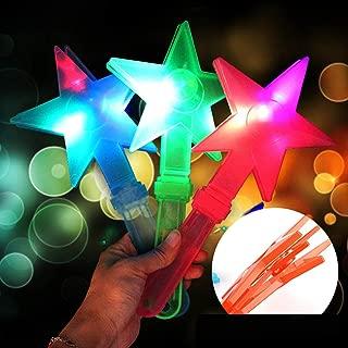 owhelmlqff-Classic Game Toy 1Pc Star LED Hand Clapper Noise Maker Flash Light Glow Stick Party Concert Favor