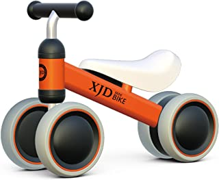 XJD Baby Balance Bikes Bicycle Children Walker Toddler Bike 10-24 Months Toys for 1 Year Old No Pedal Infant 4 Wheels First Birthday Bike
