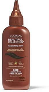 Clairol Professional Beautiful Collection Semi-permanent Hair Color, Light Ash Brown