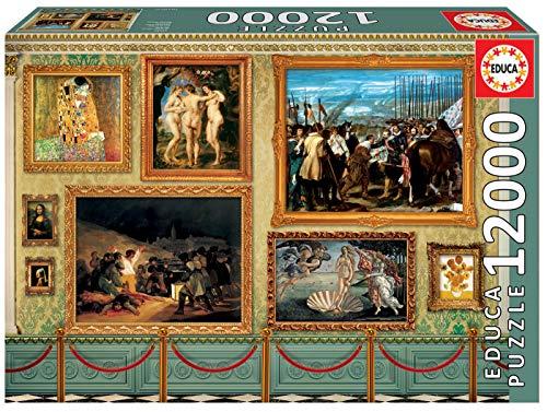 Educa Borrás - Grandes Obras de Arte Puzzle, 12000 piezas (17137)