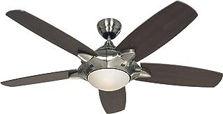 CasaFan 9513270 Mercury BN - Ventilador de techo con luz y mando a distancia