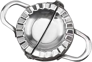 BAOBLADE Chinese Dumpling Maker Mould Kitchen Tool Press Easy Use Stainless Steel