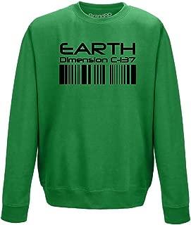 Brand88 - Dimension C-137, Adults Sweatshirt