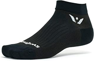 Swiftwick- PERFORMANCE ONE Golf and Running Socks | Cushion, Wicking, All Day Comfort, Mens and Womens