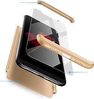 Funda Huawei Mate 9 Oro,Case Mate 9 Ultra Fina Carcasa 360°