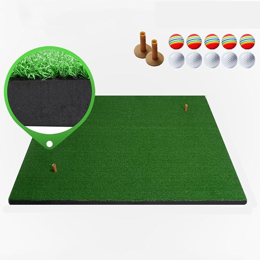 オセアニア雑種マザーランドゴルフ練習用マット高密度芝生耐久性のある家庭用ポータブル、芝生の厚さ:8 mm、5サイズ任意