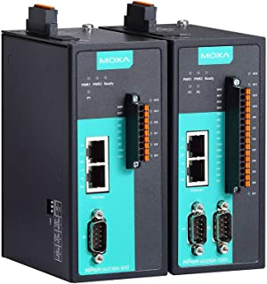 2-Port RS-232/422/485 Device Server with 4DIs and 2DOs, 0 to 60°C Operating Temperature