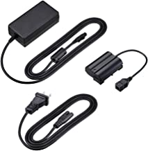 Kapaxen EH-5B AC Adapter and EP-5B Power Supply Connector Kit for Nikon 1 V1, D7200, D7100, D7000, D850, D810, D800, D750, D610, and D600 Cameras