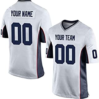 Showcool Custom Football Team Designated Player Game Jersey #3-#18Black ash
