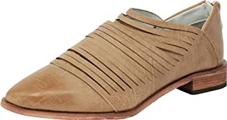 Arider Womens Oxford Classic Fashion Low Heel Carving Dress Shoes - Alana