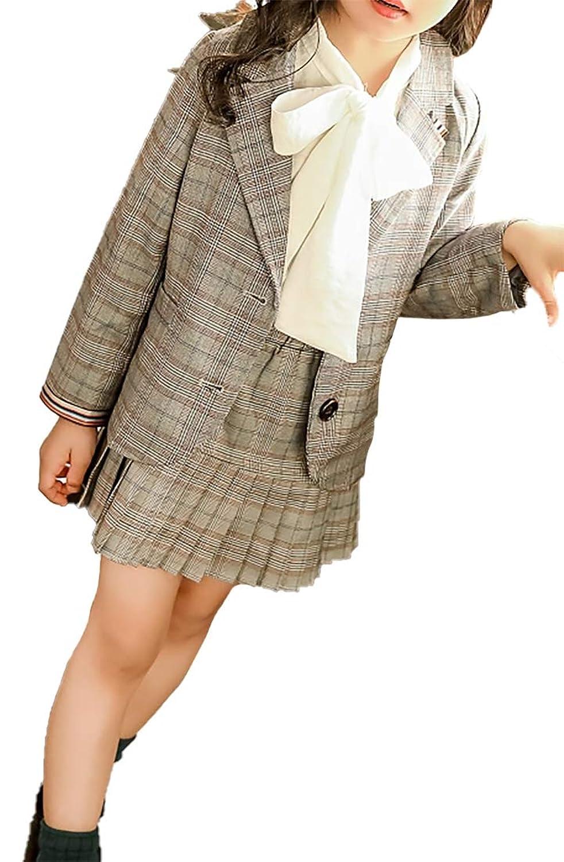 Heaven Days(ヘブンデイズ ) 子供服 キッズ フォーマル スーツ 制服 卒業式 七五三 入園式 チェック 女の子 1903L0045