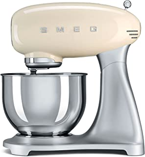 Smeg 50's Retro Stand Mixer - Cream, Multi-Colour, SMF01CRUK
