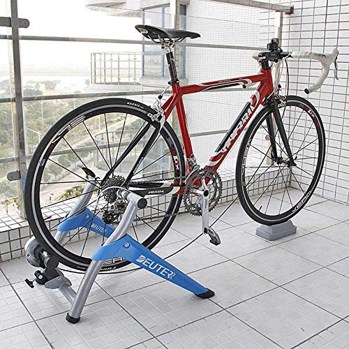 Indoor Bicycle Trainer-apparaat, racefiets voor mountainbikes, draadgestuurde magnetische turbotrainerbeugel, accessoires voor fitnessapparatuur, hometrainer (26-28 inch)