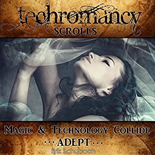 Techromancy Scrolls: Adept cover art