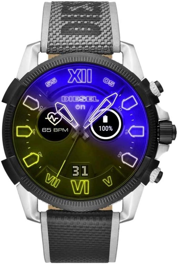 Diesel smartwatch touchscreen connected uomo DZT2012