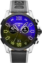 Diesel Smartwatch Pantalla táctil para Hombre de Connected con Correa en Piel