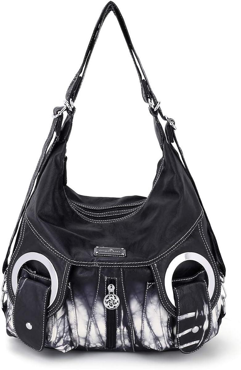 Angel Kiss Purse Max 43% OFF Women Hobo Fashion Handbag Genuine Roomy Crossbody Shou