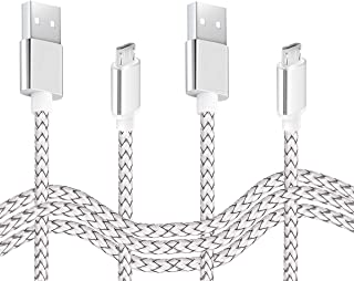 Micro USB Charger Cable 2Pack 6.6ft Android Fast Quick Charge Cord for Samsung Galaxy S7 S6 S5 Edge/Active/Plus,J7 j3 Crow...