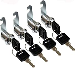 4 stuks brievenbusslot, meubelsloten, cilinderslot, verschillende sluitingen, cilinderslot, cam lock, kastslot, lock, lade...