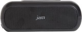 JAM Thrill Duo Wireless Bluetooth Stereo Speaker, Pair 2 For Stereo Sound, Splash Proof, Voice Prompts, Built-in Speakerphone, HX-490BK Black