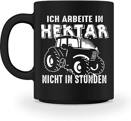 Preisvergleich für Landwirt Shirt · Landwirtschaft · Feld · Hektar · Traktor · Landwirte · Bauer · Beruf · lustig · Spruch · Kaffeetasse · Tasse · Becher · Geschenk - Tasse