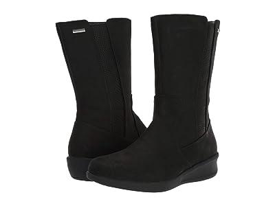 Aravon Fairlee Waterproof Mid Boot (Black) Women