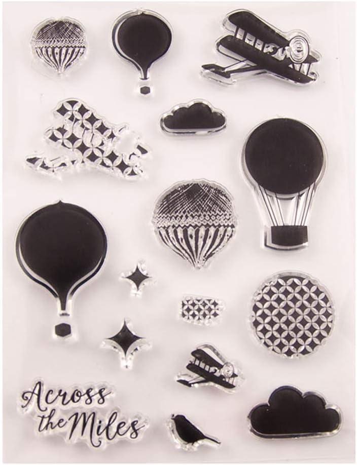 SIT.E Air Balloon Seal Stamp Award with Dies S Set DIY Popular overseas Cutting Stencil