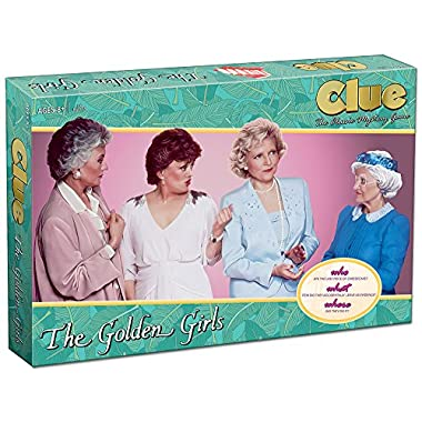 Clue The Golden Girls Board Game | Golden Girls TV Show Themed Game | Solve the Mystery of WHO ate the last piece of Cheesecake |Officially Licensed Golden Girls Merchandise | Themed Clue Mystery Game