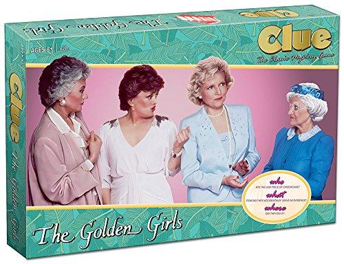 Clue The Golden Girls Board Game | Golden Girls TV Show Themed Game |...