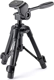 Velbon 卓上三脚 EX-mini 2段 レバーロック 脚径17mm 小型 2Way雲台 アルミ脚 301727